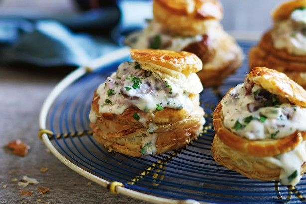 """Yes, vol au vents are old-fashioned, but I don't care because they taste so good!"" - Manu Feildel"