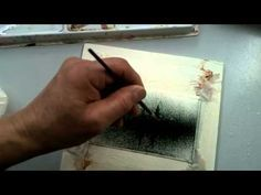 Malen Nebel nass in nass in Aquarell. – Youtube