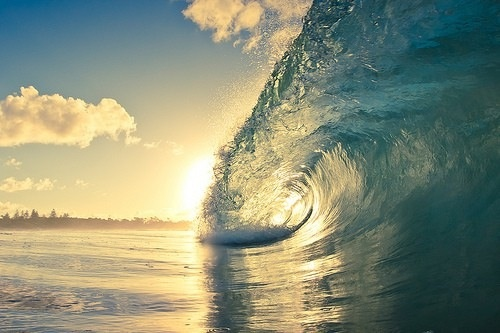 Wave to the sun...