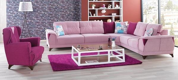15 neon color living room decor