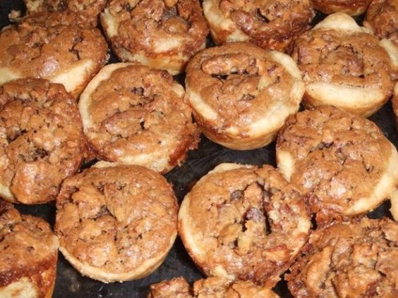 Pampered Chef Pecan Tassies Recipe - Food.com