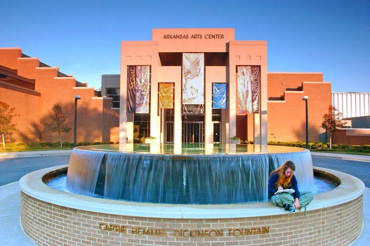 The #Arkansas Arts Center near the River Market district is free to the public. Student tours can view the world-renowned art collection in the 42,000-square-foot museum... #travel #studenttravel #grouptravel