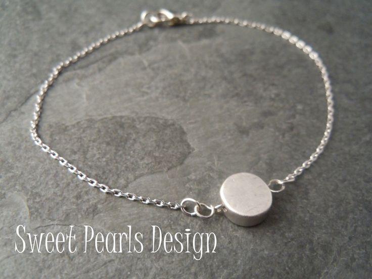 Arm- & polsbanden - Coin - Armband 925 Sterling Zilver - Een uniek product van Sweet-Pearls-Design op DaWanda