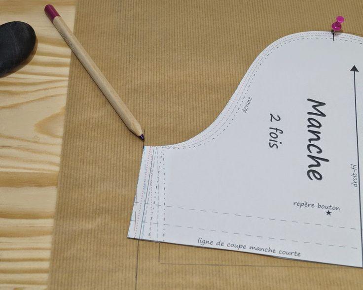 modifier la largeur d'une manche sans toucher à l'emmanchure