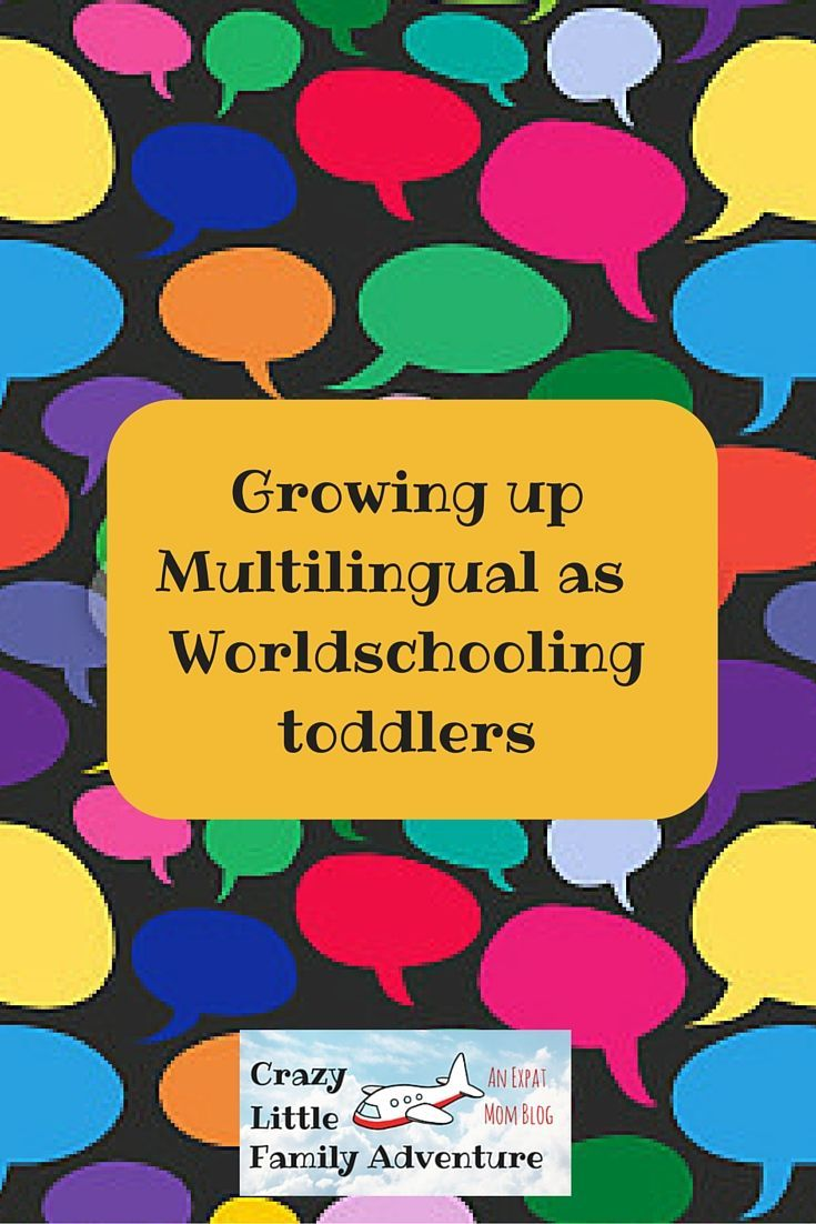 Crazy Little Family Adventure : Growing up Multilingual as Worldschooling toddlers