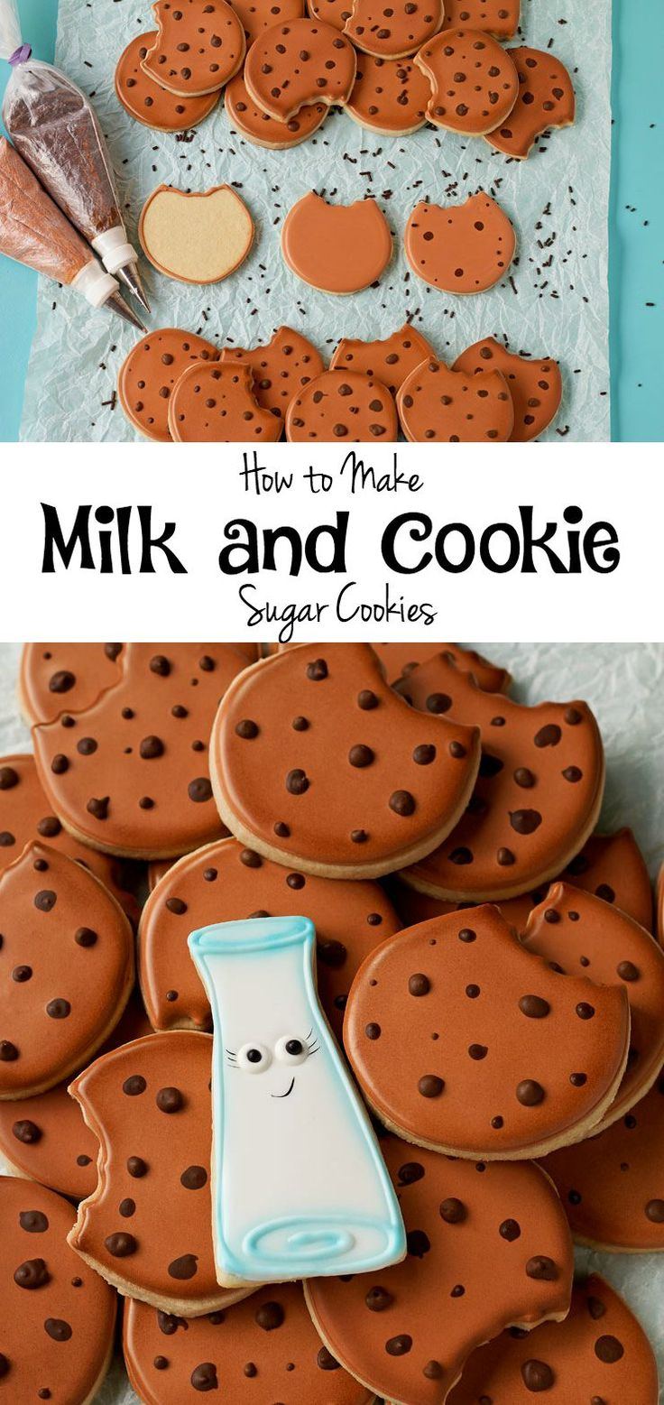 How to make Fun Cookies for Santa-with a How to Video via www.thebearfootbaker.com
