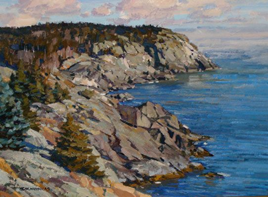 Wells Seaside Oil Paintings On Canvas