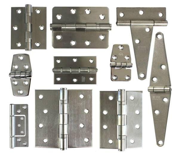 Stainless Steel Hinges by Jamie Hunt, via Behance