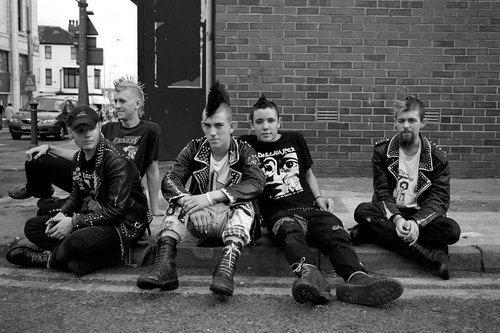 Street punks
