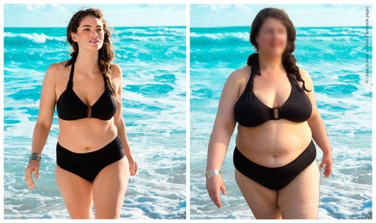 Actie van I dare to wear a bikini: Beste H, Jennie Runk is een prachtig model met een gemiddelde maat. Maar wat dachten jullie van een echt +size model voor de +size bikini?