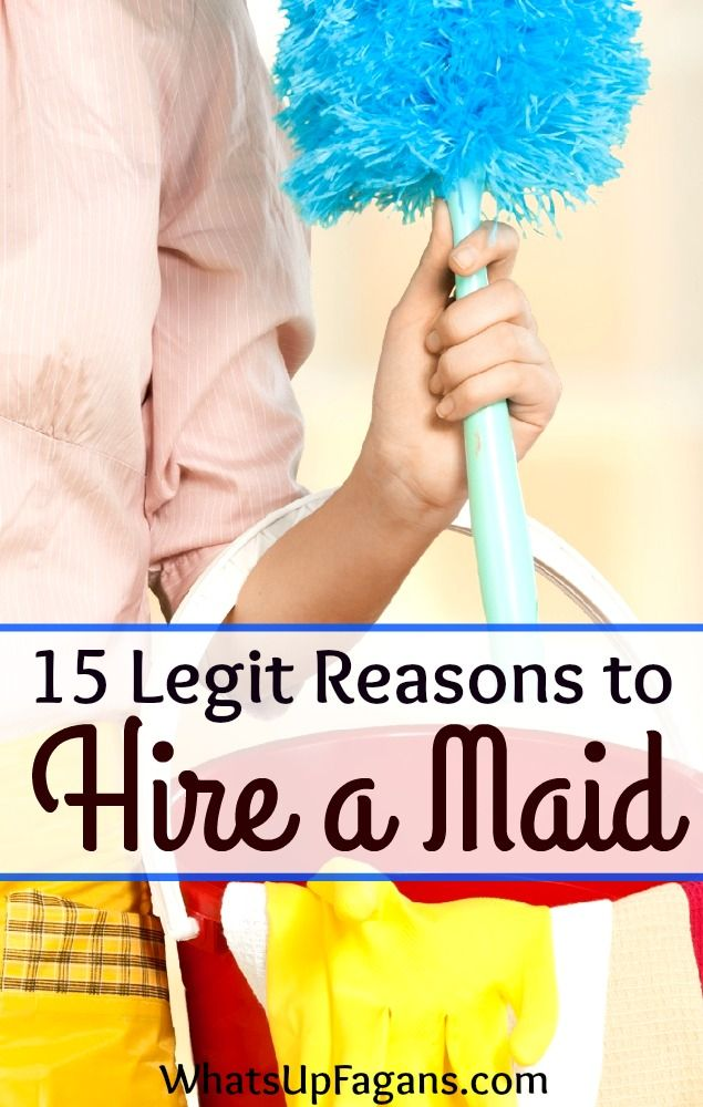 All great reasons why you should hire a maid service to come clean your house for you. Especially when you are a mom with messy kids!!