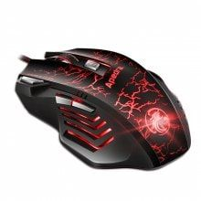 Apedra A7 Wired Gaming Mouse Macro Definition Photoelectric Four-Color Controllable Breathing Lamp Gaming Exacerbation