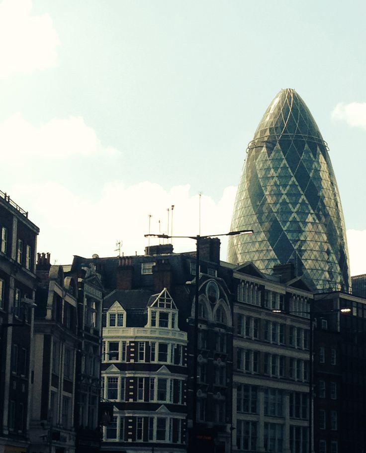 KINSA in London - The Gherkin