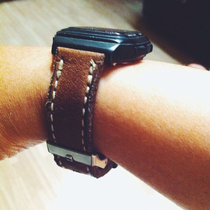 Leather WatchBand by Lead IDR 135K