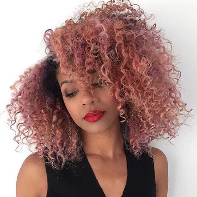 15 Gorgeous Examples Of Rose Gold Hair Color Photos   Gurl.com