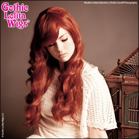 Gothic Lolita Wigs® Classic Wavy Lolita™ Collection - Auburn Mix – Dolluxe®