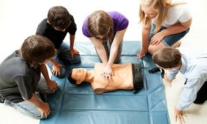 Groupon - $ 19 for a First-Aid, CPR, and AED Certification Course from Advanced Medical Certification ($59 Value) in [missing {{location}} value]. Groupon deal price: $19