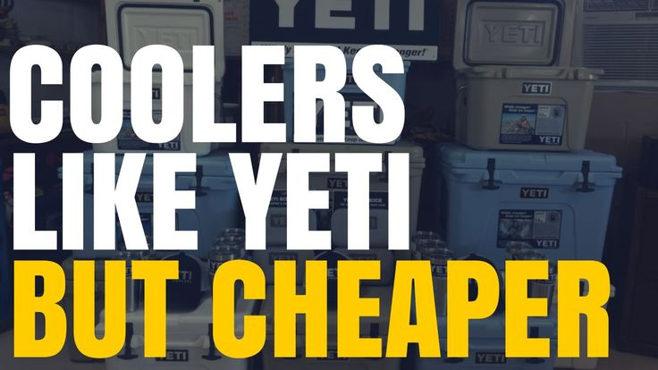 There are a lot of coolers like Yeti but cheaper that you should consider when looking to purchase a new high-end cooler. Many are actually better than Yeti