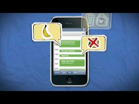 De Eet Wijzer App scant de agenda op je smartphone en geeft persoonlijke tips om gezonder te eten, op het moment dat jij ze nodig hebt.