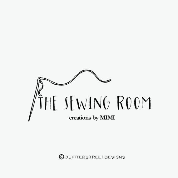 Sewing Logo-Small Business Logo-Craft Logo