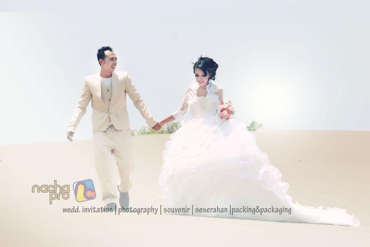 #prewedding #white #gown #bride #groom #photography #nachapro #solo #indonesia
