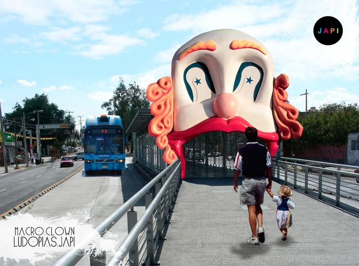 Ludopía No. 13 Macro Clown  #Design