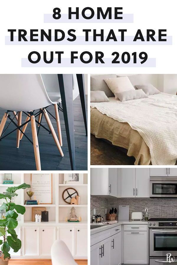 These 8 Overplayed Home Trends Are Officially Out For 2019 Purewow