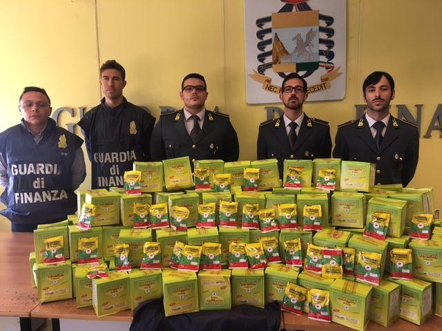 Martinsicuro contrabbando: sequestrati oltre 30 chilogrammi di tabacco da masticare
