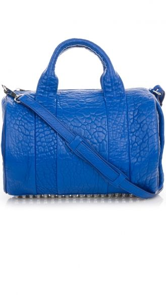 ALEXANDER WANG BLUE  ROCCO ROYAL PEBBLE