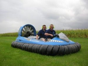Hovercraft Demonstration - things to consider when purchasing a hovercraft www.hovercraft.org