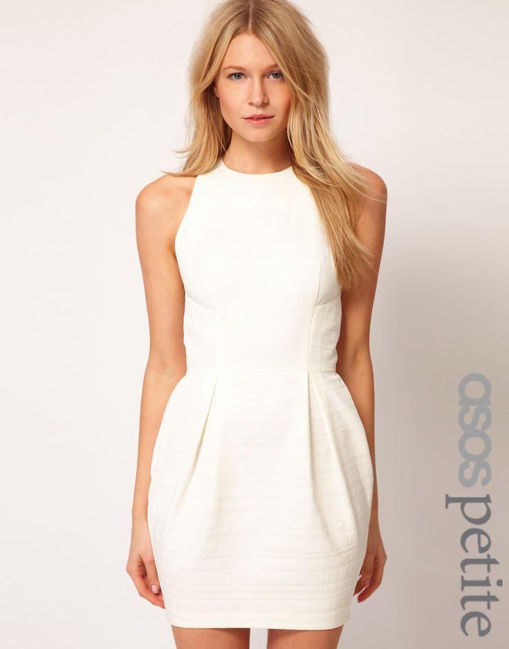 brunchy: Texture Stripes, Tulip Dresses, Shower Dresses, Asos Tulip, Bridal Shower, Exclusively Tulip, Little White Dresses, Asos Dress, White Tulip