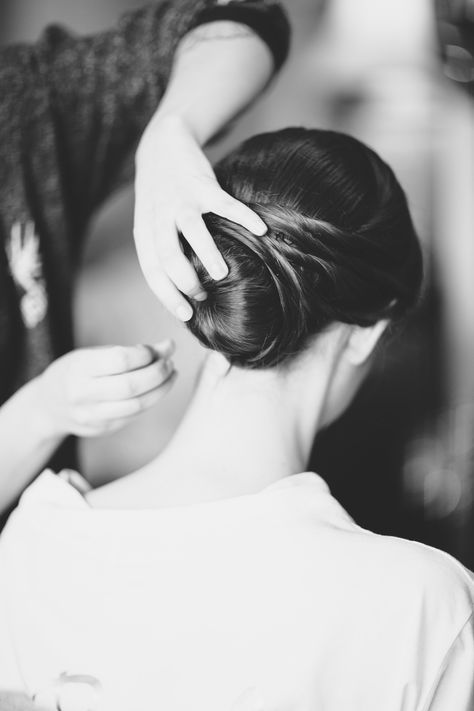 Putting the final touches on one of our brides Hair (and makeup) WHAM Artists http://weddinghairandmakeupartists.com/gallery