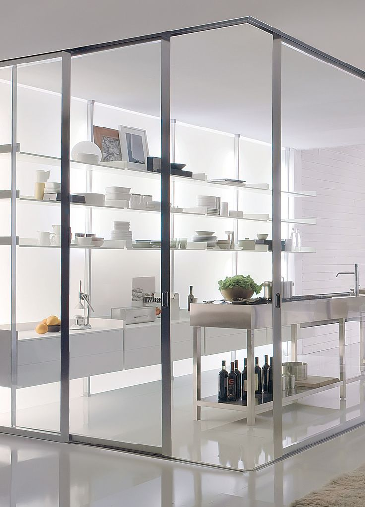 #Glass sliding door VISTA by @albedmilano by Delmonte