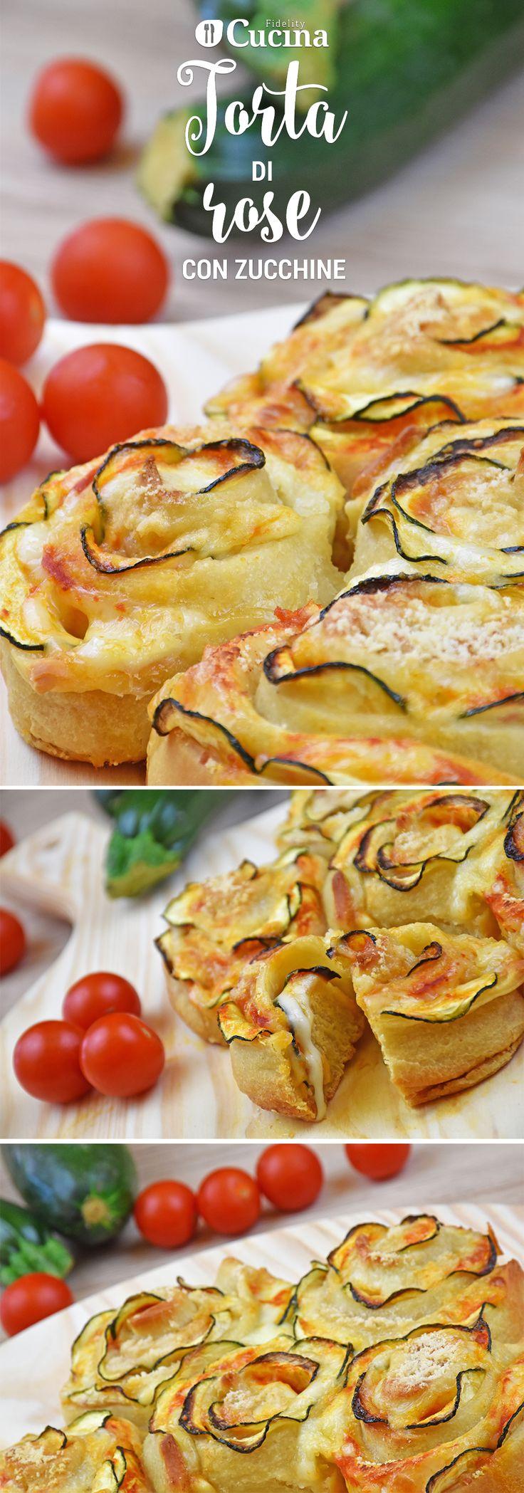 La torta di rose con #zucchine è una variante salata della classica torta di rose dolce. L'effetto finale è di grande impatto e soprattutto piace tantissimo. Ecco la #videoricetta