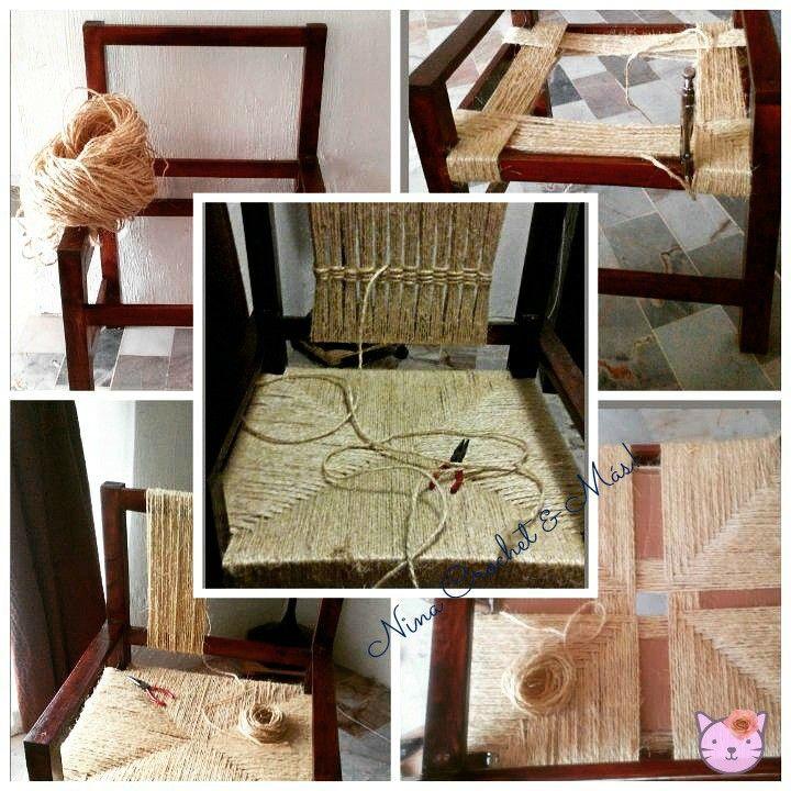 M s de 25 ideas incre bles sobre silla tejida en pinterest for Sillas para viejitos