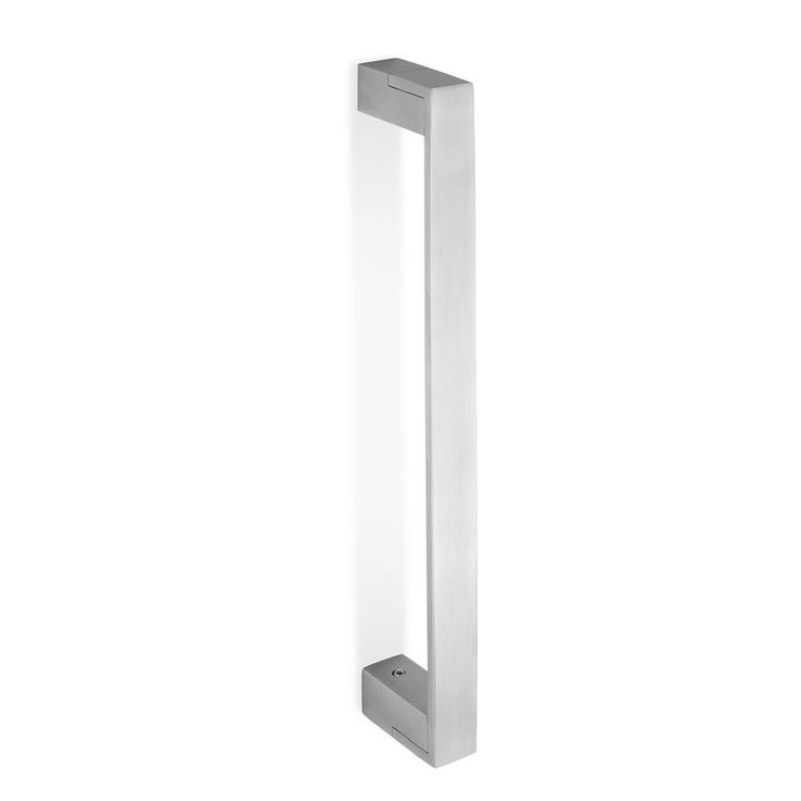 Simple Square Solid Stainless Steel Handle Available At Long At A Diameter  Of Suitable For Doors Up To In Thickness.
