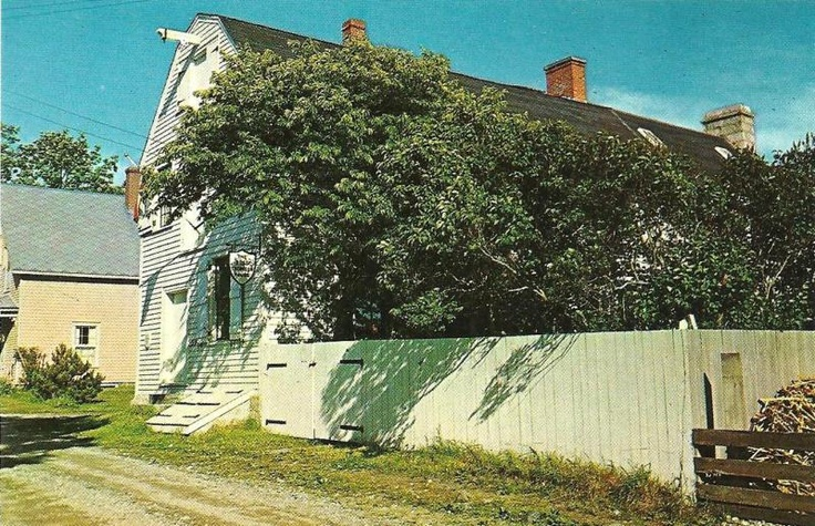 Nova Scotia / Shelburne / Ross-Thomson House / 1960's /...