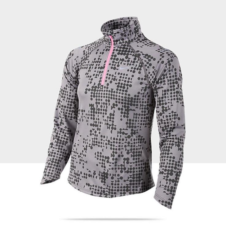 Nike Element Jacquard Half-Zip Running Shirt