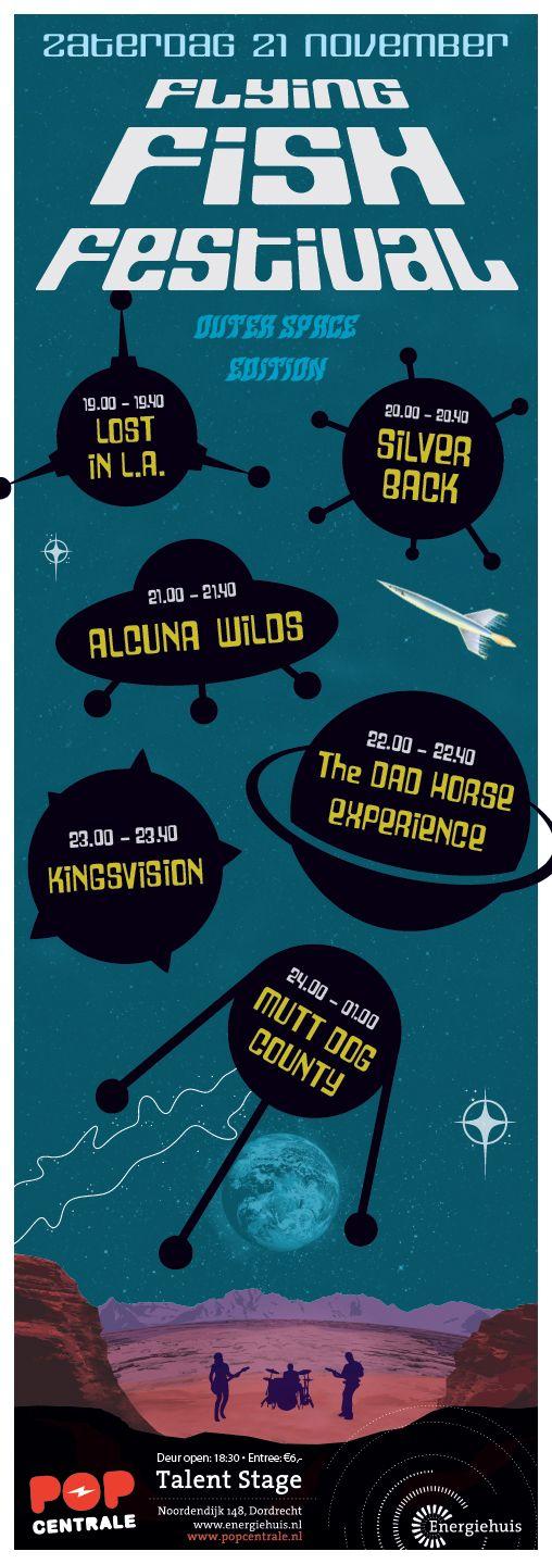 Poster, Popcentrale, design Rogier Bot