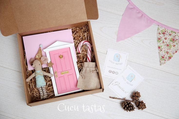 Caja de regalo personalizado del Hada de los dientes. Fairy tooth