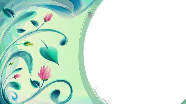 Tło Zakręt W Prawo, Kwiat Projekt, Tle, Ramki, Świeca