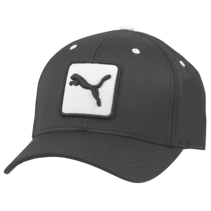 Fancaps - Golf Cat Patch Relax Adjustable Cap Black, $34.00 (http://www.fancaps.com.au/golf-cat-patch-relax-adjustable-cap-black/)