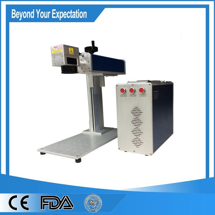 Hot Sale 10W Fiber Laser Etching Machine