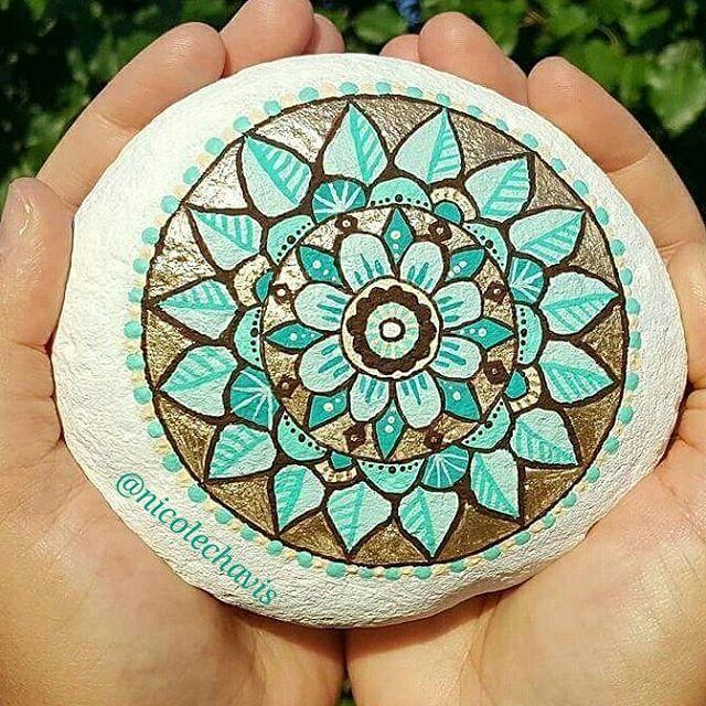 Mandala Stone What a beauty