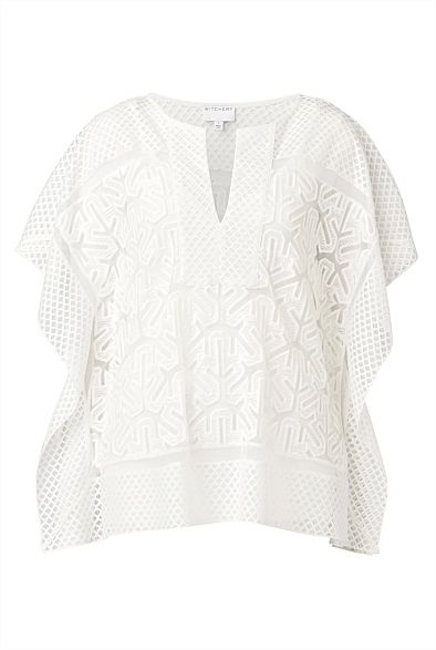 Lace Kimono Top #WitcheryStyle