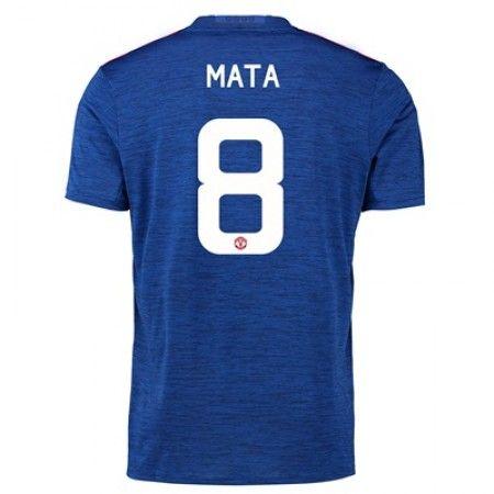Manchester United 16-17 Juan #Mata 8 Bortatröja Kortärmad