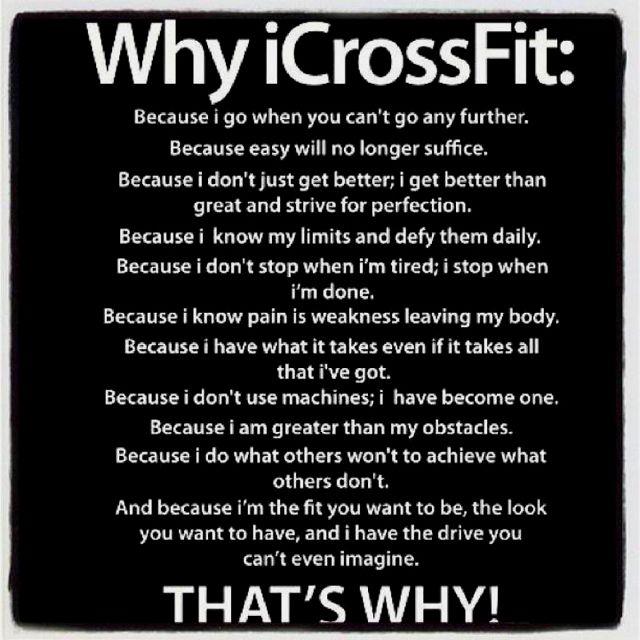 Crossfit Goals  April 16 Competition