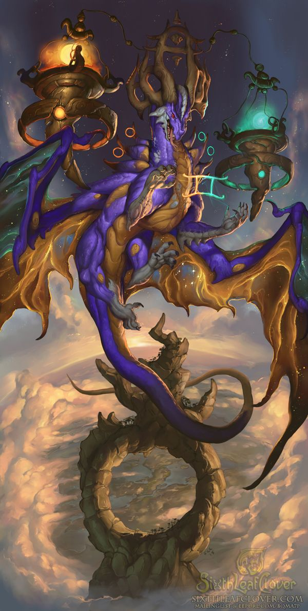 2016 Zodiac Dragons Libra by The-SixthLeafClover The Scales dragon god of time and balance monster beast creature animal | Create your own roleplaying game material w/ RPG Bard: www.rpgbard.com | Writing inspiration for Dungeons and Dragons DND D&D Pathfinder PFRPG Warhammer 40k Star Wars Shadowrun Call of Cthulhu Lord of the Rings LoTR + d20 fantasy science fiction scifi horror design | Not Trusty Sword art: click artwork for source