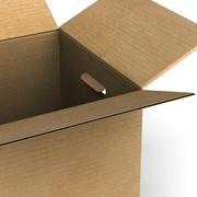 """Если у Вас осталась картонная коробка из под холодильника, то из нее можно сделать стеллаж. Вот пошаговая инструкция. Вырезаем заднюю стенку и профиль. Вырезаем дополнительные """"ребра"""" жесткости. Собираем конструкцию."""