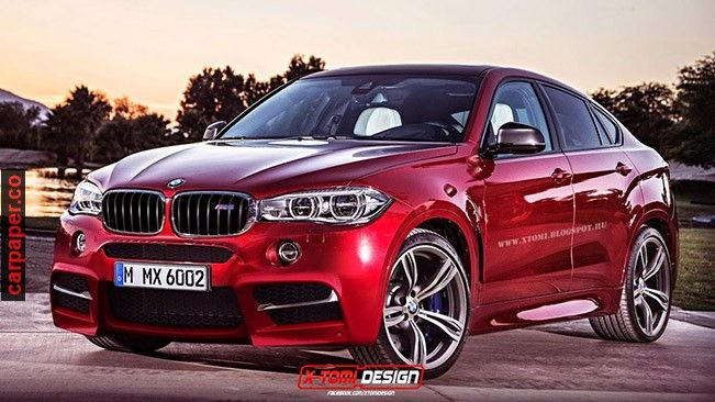 2016 BMW X6 M – Spotted
